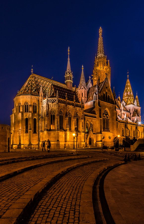 Matthias Church - Budapest - Hungary - by Csilla Zelko on 500px #budapest…