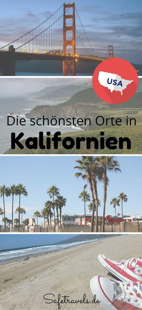 Unsere Reiseberichte zu dens chönsten Orten in Kalifornien. Los Angeles, San Francisco, Yosemite, Death Valley, San Diego, Highway 1.