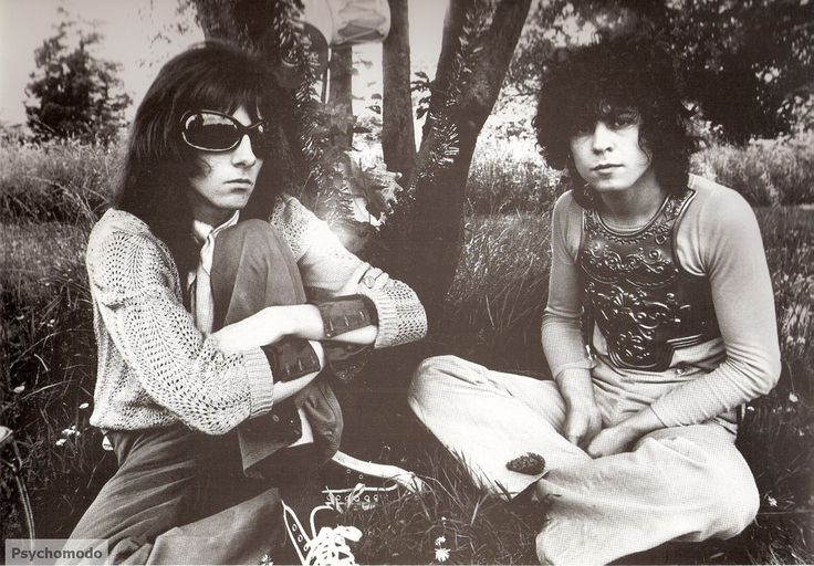 Before T-Rex Marc Bolan formed Tyrannosaurus Rex with Steve Peregrine Took.