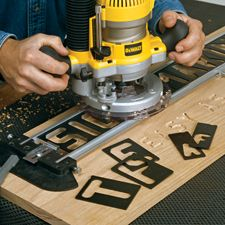 Router Sign-Pro Signmaking Template Kit & Accessories