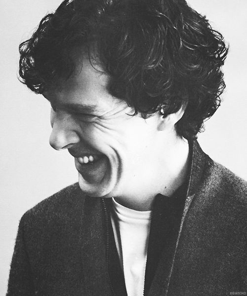 crinkled nose and smiley Benedict