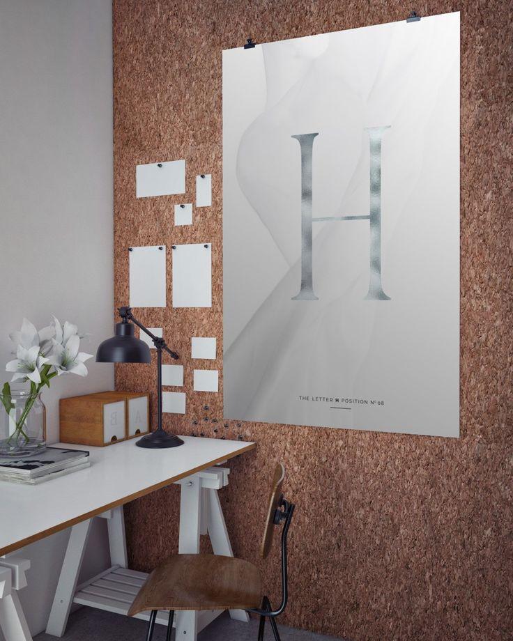 Typografie Buchstabe H