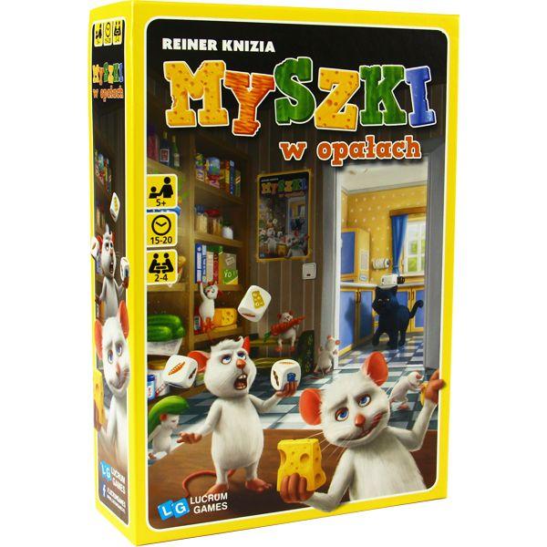 Myszki w opałach – gra planszowa dla dzieci
