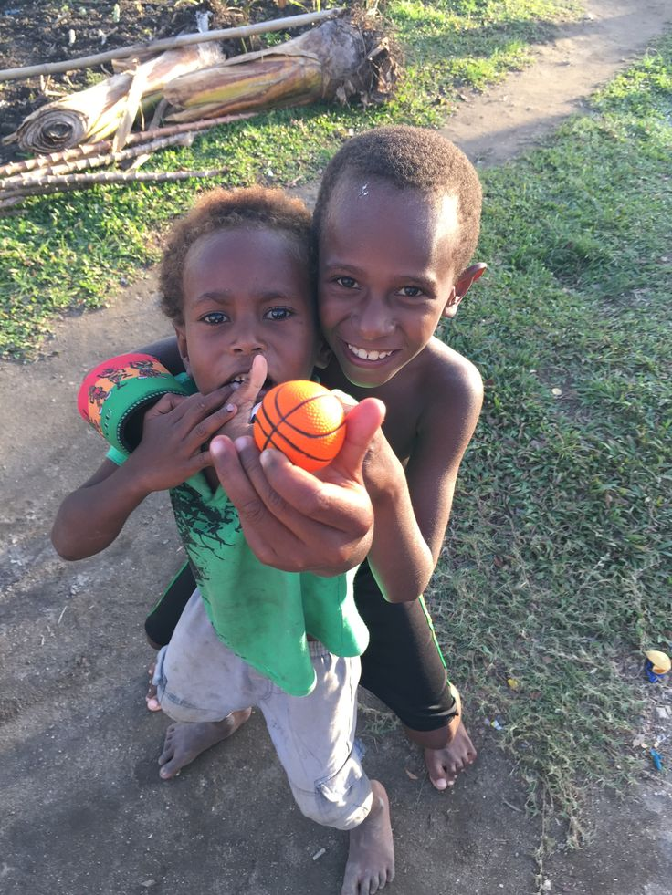 The things we often disregard are so precious to those without. It was fabulous watching the kids play with their new sports equipment.