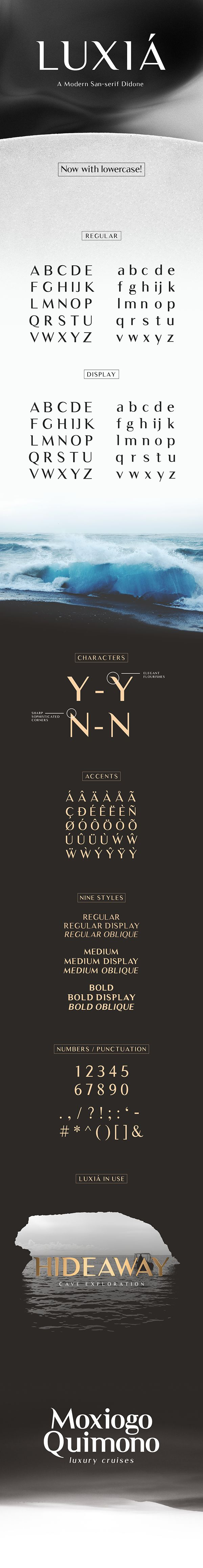 Luxia - Free Typeface