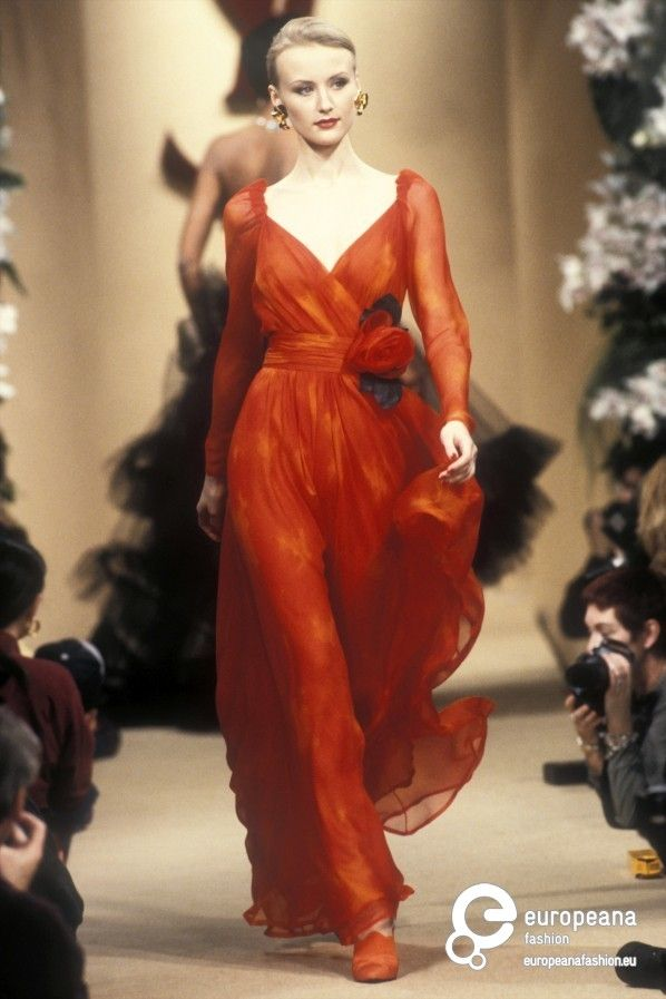 Yves Saint Laurent, Spring-Summer 1994, Couture                                                                                                                                                                                 More