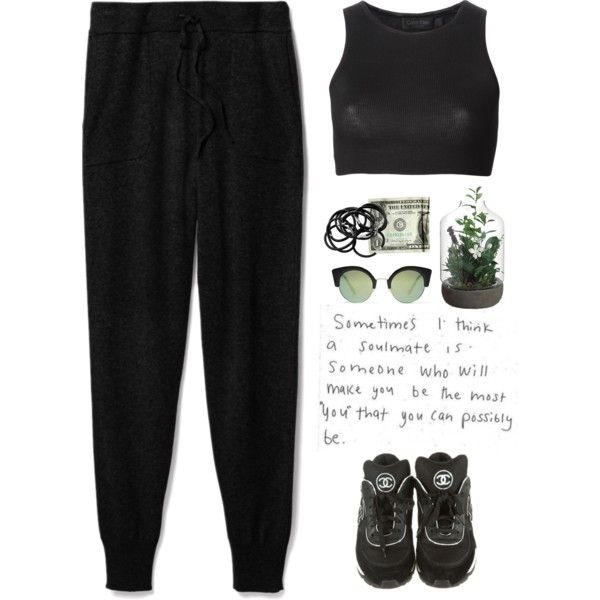 - Black Cofee - by lolgenie on Polyvore featuring polyvore fashion style Calvin Klein Collection Theory Chanel Cheap Monday H&M polyvorecommunity polyvoreeditorial Lolgenie