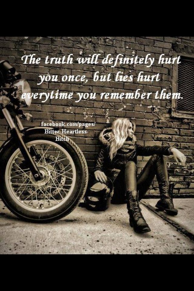 Motorcycle Girlfriend Quotes