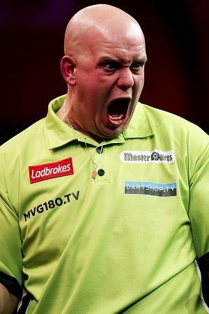 Michael van Gerwen the best darts player in the world.