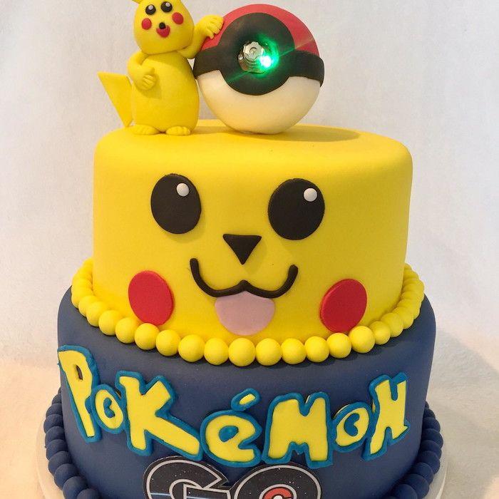 Les 1983 meilleures images propos de culinaire sur pinterest pikachu g teaux et desserts et - Decoration gateau pokemon ...