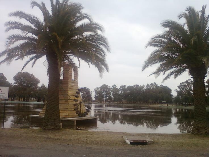 Parque Las Acollaradas, Bolívar, Argentina