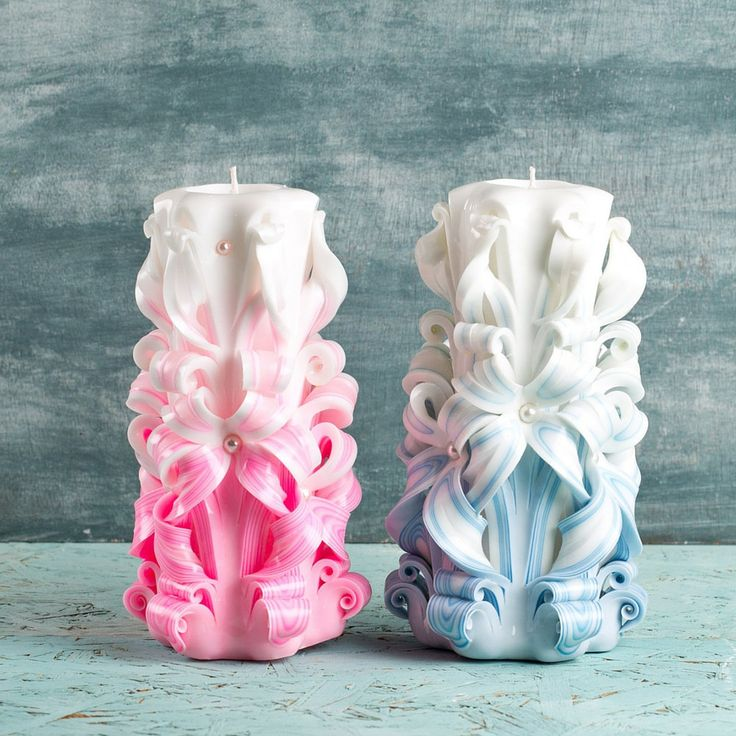 Wedding reception decorating ideas, Unusual wedding gifts, Wedding centerpieces, Carved candles, Decorative candles, centros de mesa, velas Buy this special gift for Mother's Day. Use coupon code MOMDISC2017 for 10% off. http://EveArtCandles.etsy.com  #carved #candle #decorative #christmas #gift #idea #wedding #birthday #mothersday