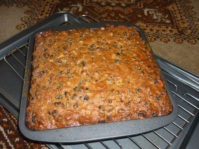 Mum's Boiled Fruit Cake recipe