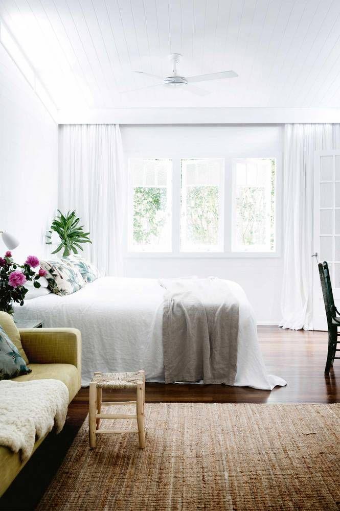 light + airy bedroom
