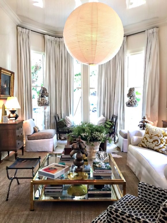 11 Stunning Designer Spaces From Southern Style Now  Living Rooms a style mix  Decor