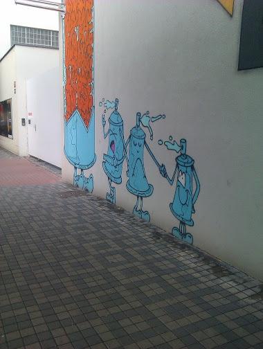Street art: Dox Praha