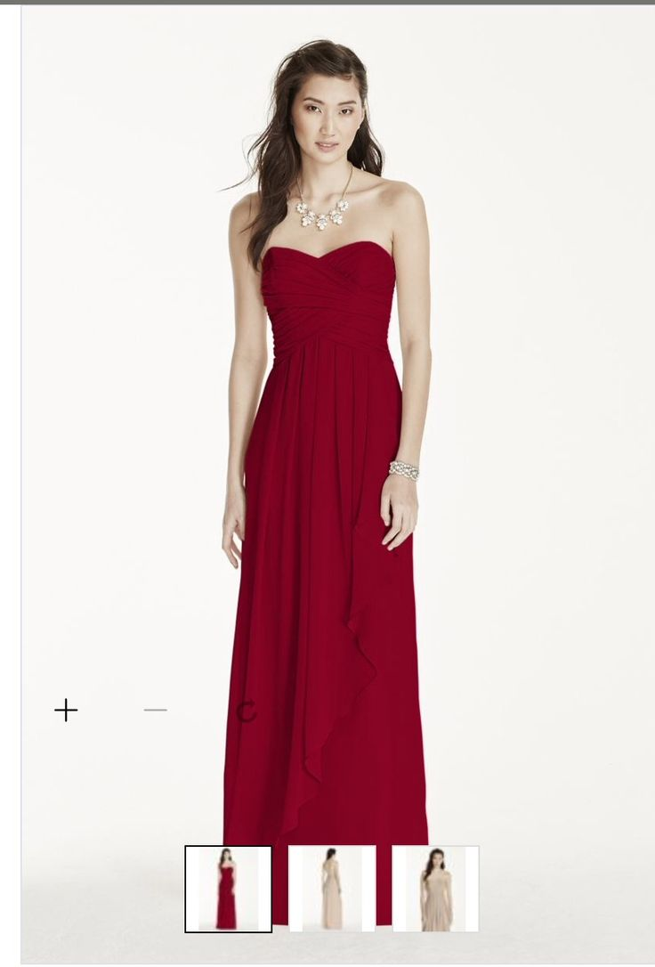33 best bridesmaid dress images on pinterest night prom gowns this is the deep red bridesmaid dress ombrellifo Choice Image