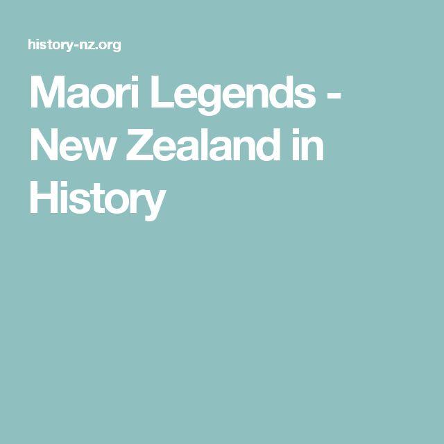 Maori Legends - New Zealand in History