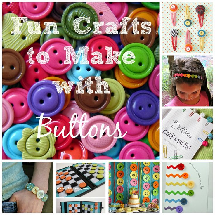 fun crafts to make with buttons by @Amy Delmanto {Some of the Best Things in Life Are Mistakes}