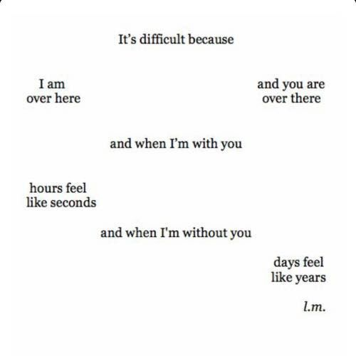 Long Distance Quotes : Long distance relationships