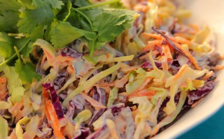Asian Slaw Recipe by Siba Mtongana : Food Network UK