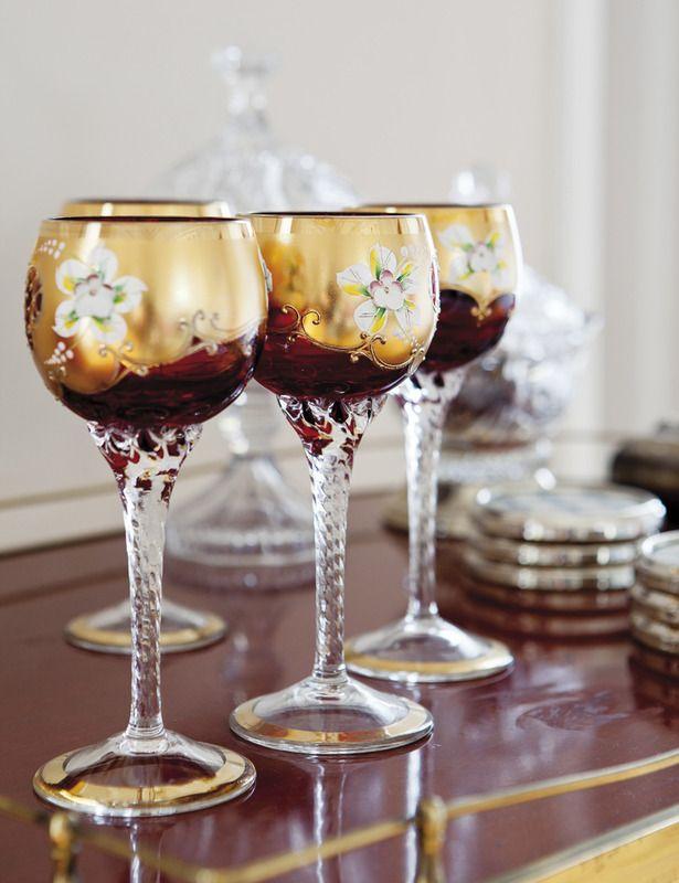 1000 ideas about copas de cristal en pinterest copas de for Copas de cristal