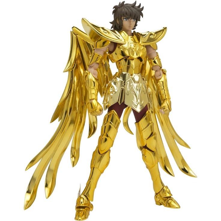 Saint Seiya Sagittarius Aiolos Saint Cloth Myth EX Action Figure (gold) 4543112701671 - $89.99
