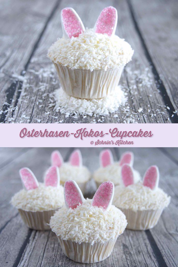 Schnin's Kitchen: Osterhasen-Kokos-Cupcakes Alternativ: Carrot Cake Cupcakes