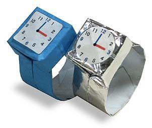 Origami Wrist Watch