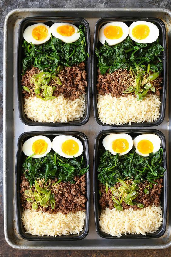 Korean Beef Bowl Meal Prep – Schmeckt nach koreanischem BBQ in Form der Zubereitung von … – hyelia