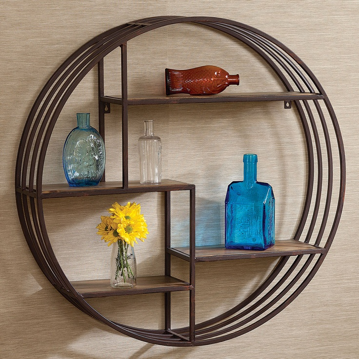 Round Wall Shelf - Acacia - 28 Best Wall Decor Images On Pinterest