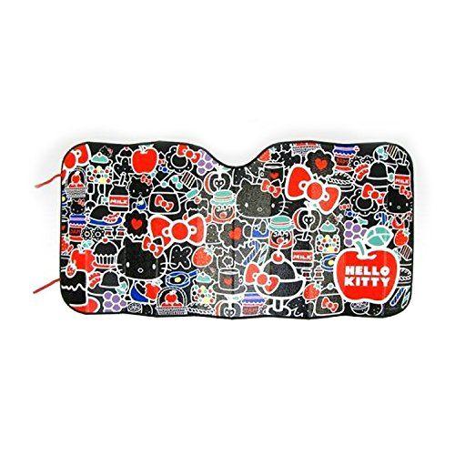 Sanrio Hello Kitty Car Windshied Sunshade Compact : Strawberry Black Kitty - http://www.caraccessoriesonlinemarket.com/sanrio-hello-kitty-car-windshied-sunshade-compact-strawberry-black-kitty/  #Black, #Compact, #Hello, #Kitty, #Sanrio, #Strawberry, #Sunshade, #Windshied #Hello-Kitty