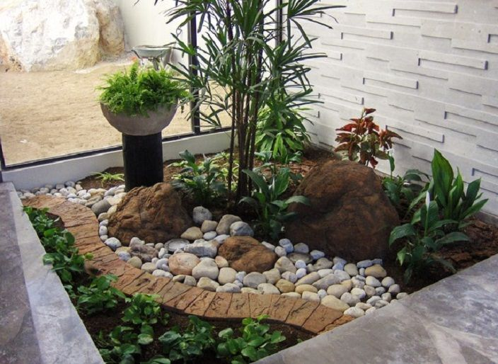 17 best images about rock garden ideas on pinterest Small rock garden