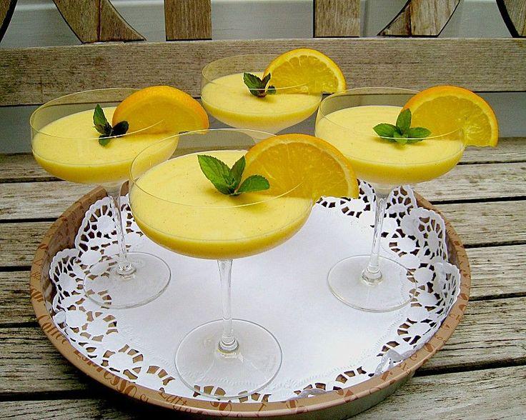 Chefkoch.de Rezept: Feine Orangencreme