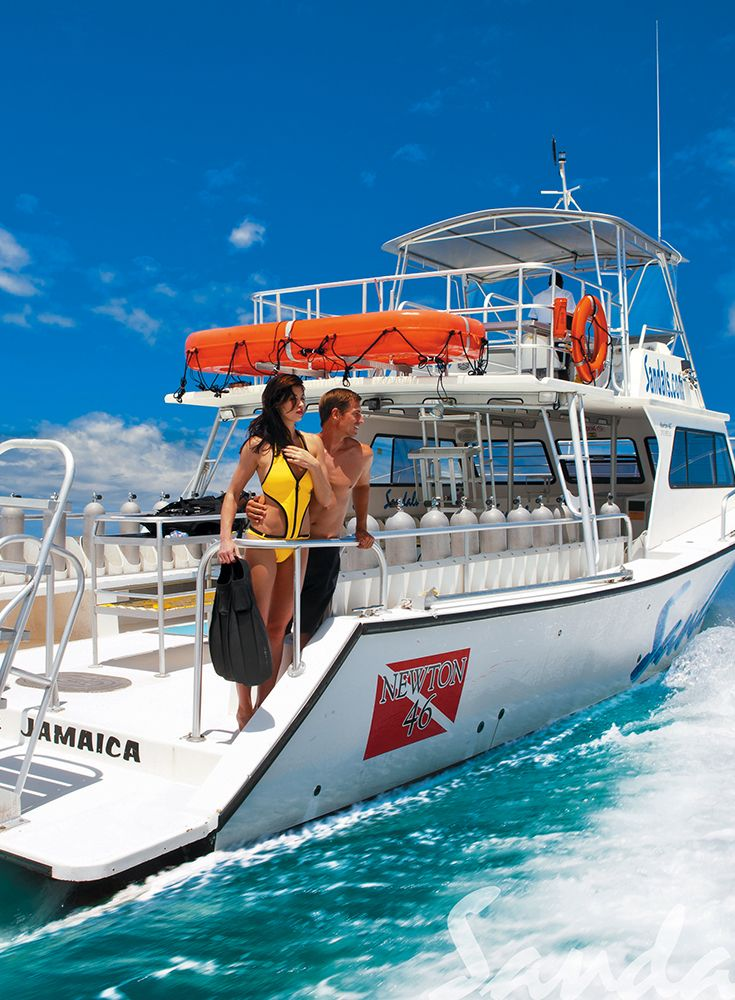 Dive In Style On Our Newton Dive Boats Sandals Resorts