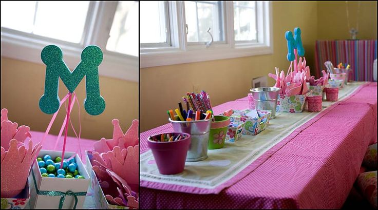 This craft table is a brilliant idea!