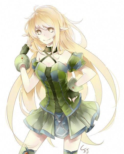 Rena Elsword AnimeFemale Character DesignWallpapers AndroidGreen HairFantastic ArtFemale CharactersAnime