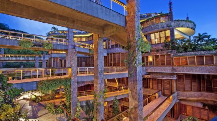 Arkitekturen er unik og beundringsværdigt