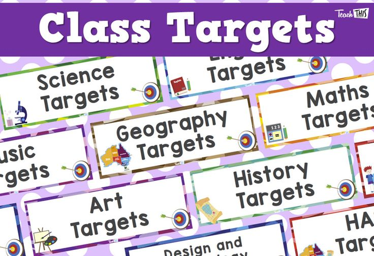 Class Targets
