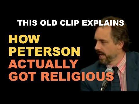This Old Clip Explains How JORDAN PETERSON Actually Got Religious - YouTube