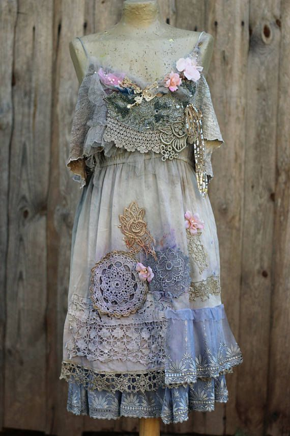 Moonglow and primrose dress size M whimsy bohemian dress
