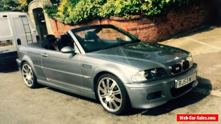 BMW M3 3.2l  E46 6 speed Manual Cabriolet 2003 #bmw #m3 #forsale #unitedkingdom