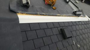 Gluing EPDM to flashing