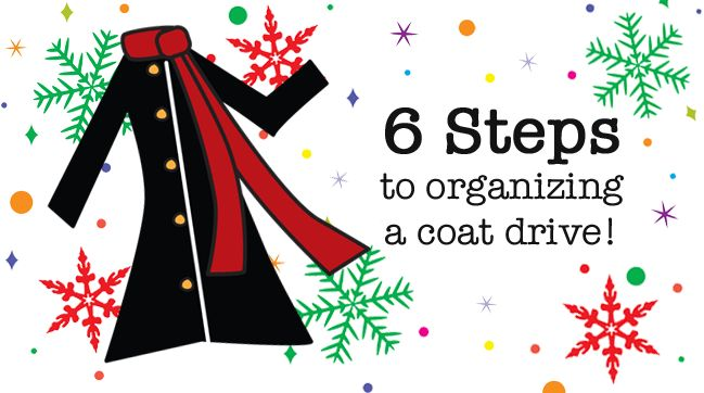 Consider hosting a coat drive to help keep more in your community warm this winter: