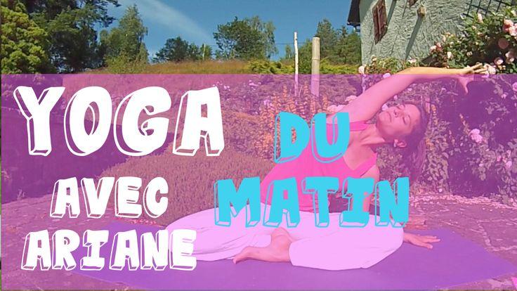 Bien se réveiller avec une séance de 20mn de Yoga, c'est sur ma chaîne YouTube et c'est tout gratuit! :)