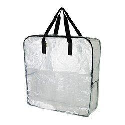 IKEA - DIMPA, Sac-rangement, , Protège le contenu contre l'humidité et la saleté.Peut aussi servir pour le tri des déchets.