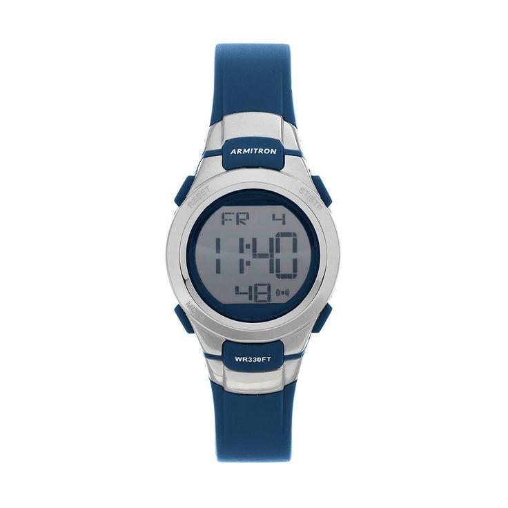 Armitron Women's Sport Digital Chronograph Watch, Size: Small, Blue