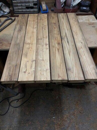 dessus de table en boisdegrange sign rustikrestaurationancestrale cr ation rustik bois de. Black Bedroom Furniture Sets. Home Design Ideas