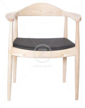 Replica HW Round Chair – Special Edition Natural Frame
