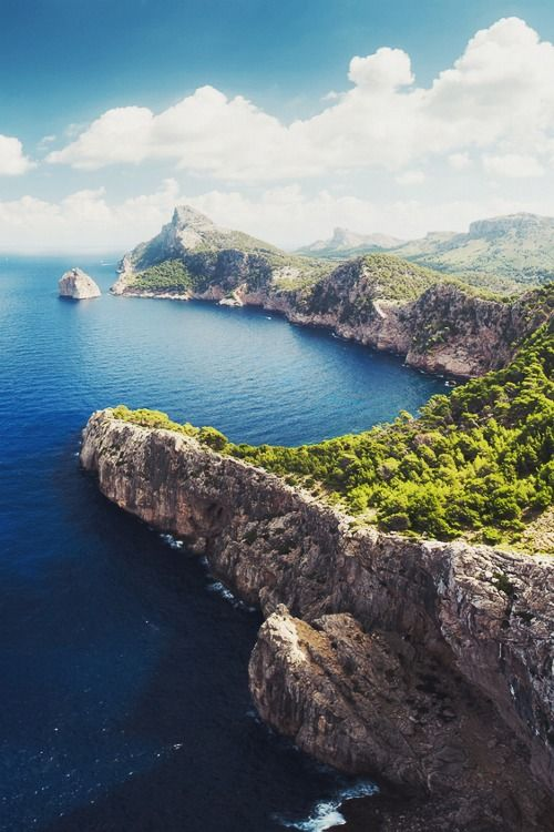 Majorca, or Mallorca is an island located in the Mediterranean Sea. It is the largest island in the Balearic Islands archipelago, in Spain.